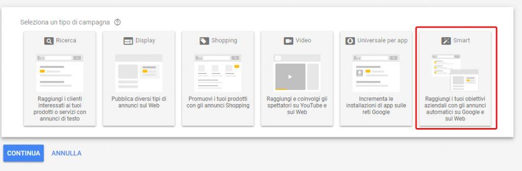campagne google smart
