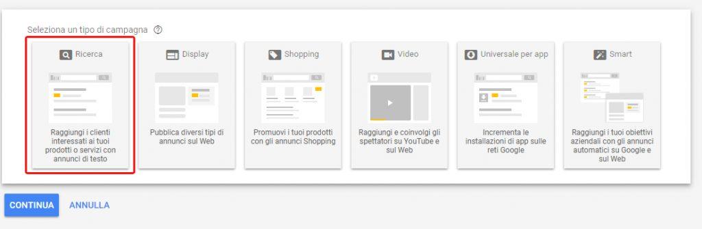 google ads le basi